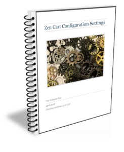 Zen Cart Configuration Settings eBook