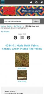 Zen Cart Responsive Fallback - Mobile