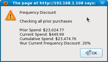 Zen Cart Frequency Discount Explanation
