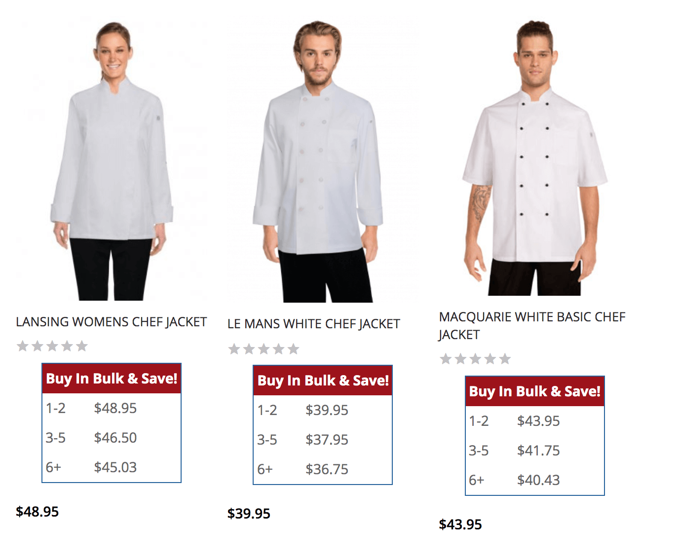 Zen Cart Quantity Discounts on Listing page example 3